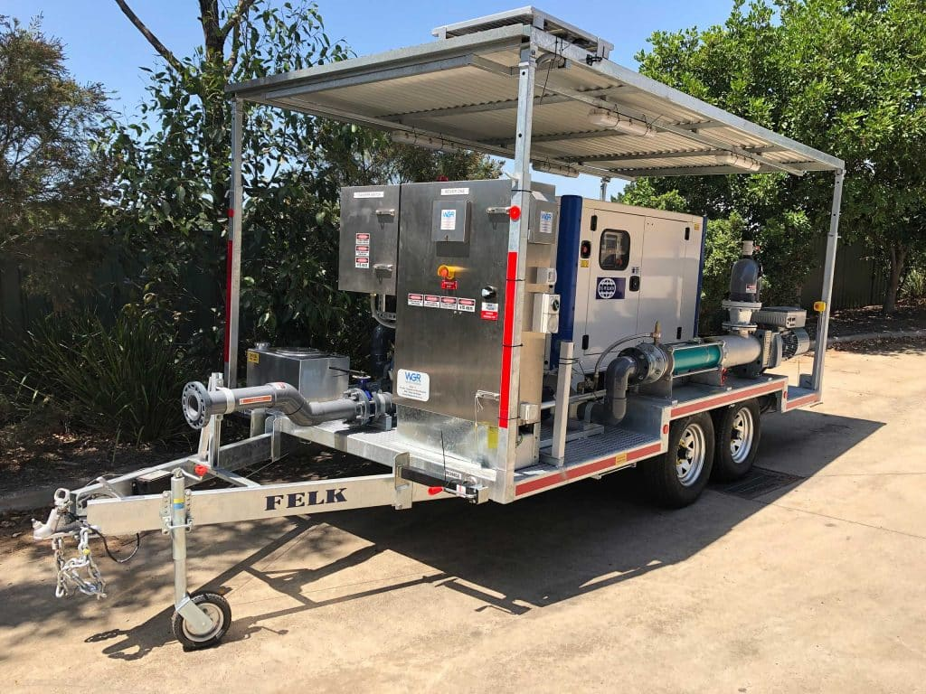Leachate Trailer Water Gas Renew - Industrial Water and Gas Treatment Services